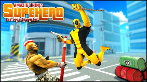 Real Ninja Superhero Las Vegas gangster Fight 1.0.1 screenshots 8