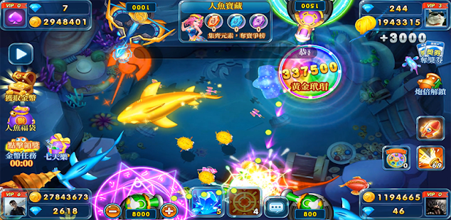 fishing casino - free fish game arcades hack