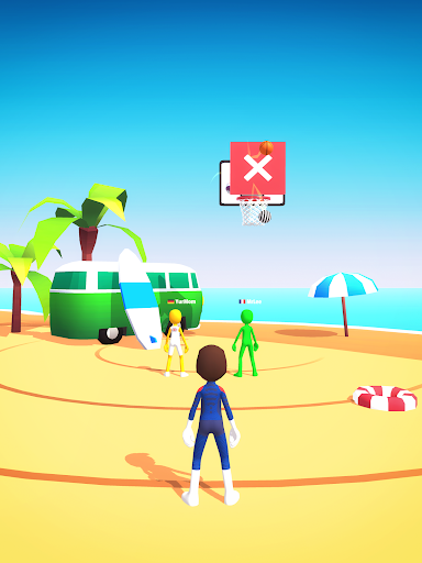 Five Hoops - Basketball Game apkmr screenshots 12