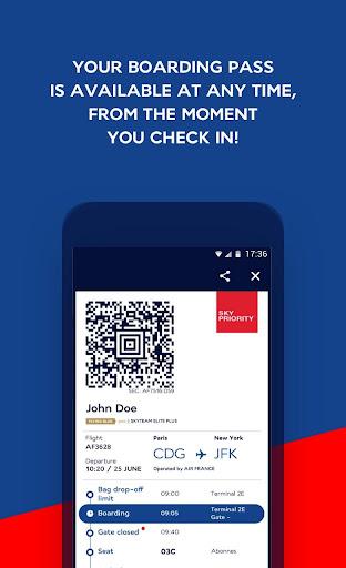 Air France - Airline tickets 5.1.0 Screenshots 3