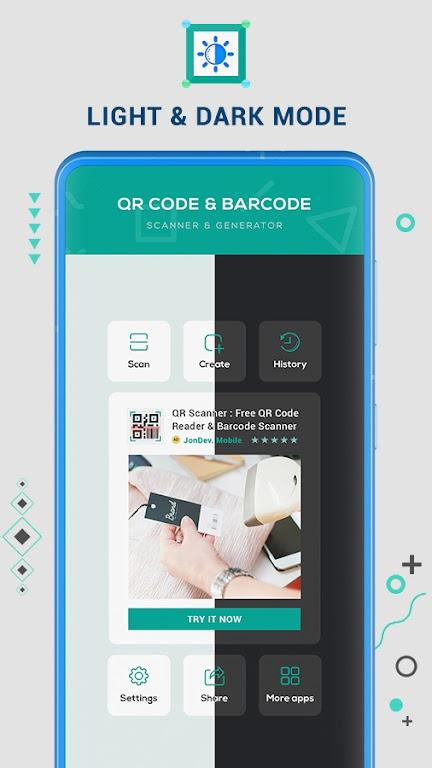 Free QR Code Reader & Barcode Scanner - QR Scanner poster 4