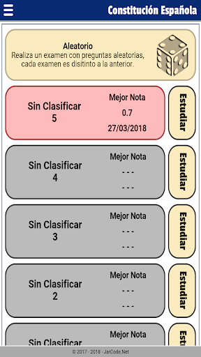 Tests oposiciu00f3n constituciu00f3n Espau00f1ola 20.07.03 screenshots 8