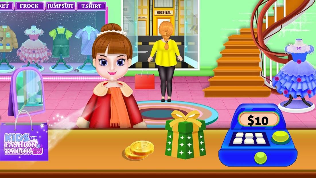 Fashion Tailor Dress Shop: Clothes Maker screenshot 6