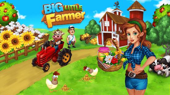 Big Little Farmer Offline Farm- Free Farming Games apk