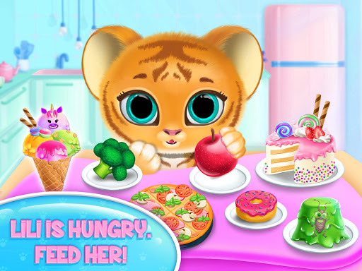 Baby Tiger Care - My Cute Virtual Pet Friend modavailable screenshots 16