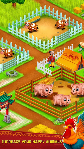Asian Town Farm : Offline Village Farming Game APK MOD – Pièces de Monnaie Illimitées (Astuce) screenshots hack proof 2
