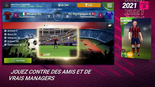 Pro 11 - Football Manager Game  APK MOD (Astuce) screenshots 3