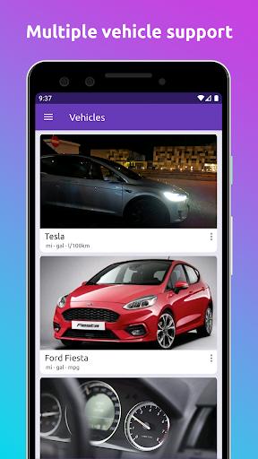 Fuelio: gas log, costs, car management, GPS routes 7.8.1 Screenshots 5
