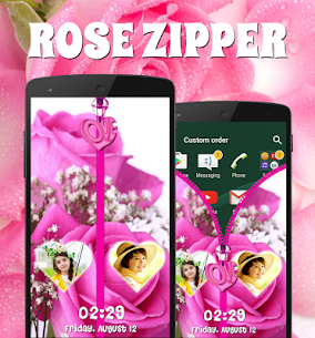 Rose Zipper Lock Screen For Pc | How To Install – (Windows 7, 8, 10 And Mac) 3