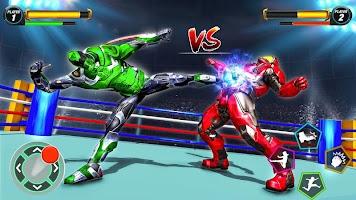 Robot Ring Fighting Games-Real Robot Fighting 2020