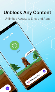 Grizzly VPN – Unlimited Free VPN & WiFi Security 1.3.6 Android Mod APK 2