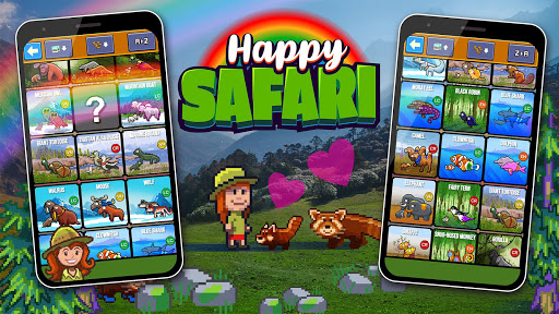 Happy Safari - the zoo game  screenshots 8