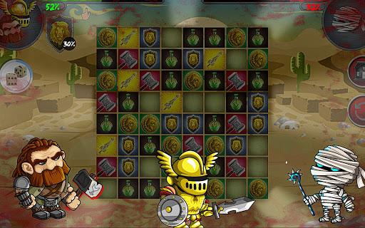 LEGENDARY MONSTER WAR PUZZLE  screenshots 11