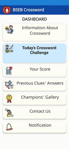 BSEB CROSSWORD 1.7 screenshots 2