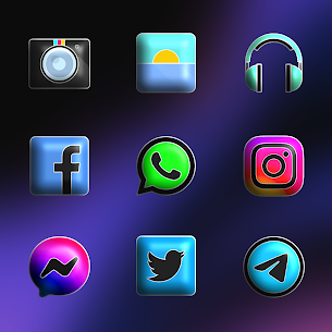 Download FluOxigen 3D – Icon Pack (Patched) 4