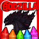 Coloring Godzilla : King of the Monsters
