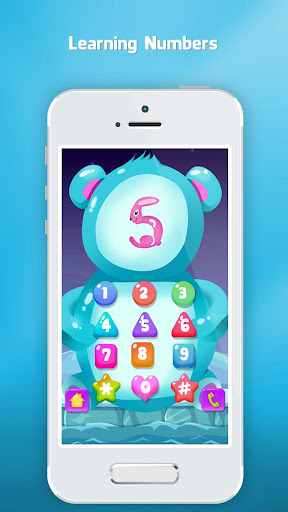 Phone for kids baby toddler - Baby phone apkpoly screenshots 1