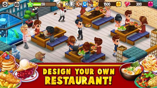 Food Street - Restaurant Management & Food Game APK MOD – Pièces Illimitées (Astuce) screenshots hack proof 1