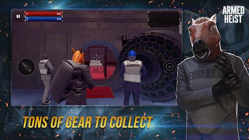 Armed Heist: TPS 3D Sniper shooting gun games goodtube screenshots 8