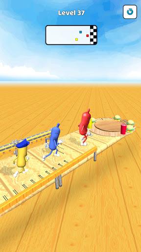 Wacky Sausage Game 2021: Fun Run Game 4 screenshots 4