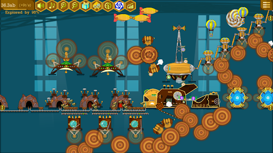 Steampunk Idle Spinner MOD APK (Everything Unlocked) Download 7