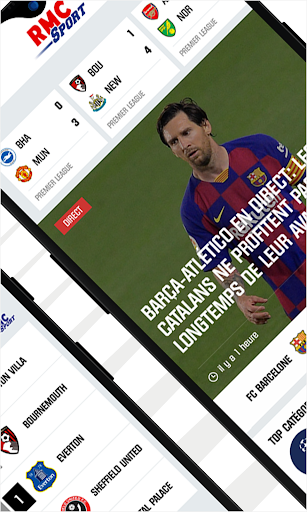 RMC Sport News - Actu Foot et Sports en direct 5.0.2 Screenshots 2