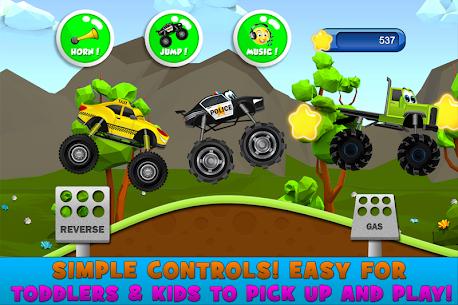 Monster Trucks Game for Kids 2 5