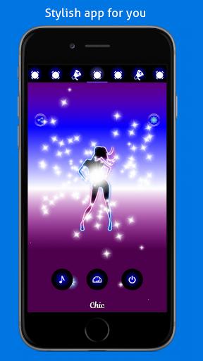 Disco Light: Flashlight with Strobe Light & Music 4.5 Screenshots 2