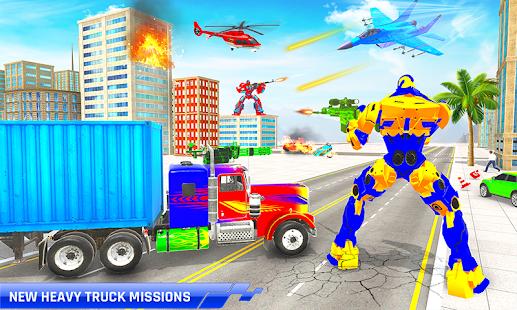 Police Truck Transform Robot 51 Screenshots 4