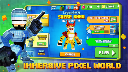 Super Pixel Heroes 2021 apklade screenshots 2