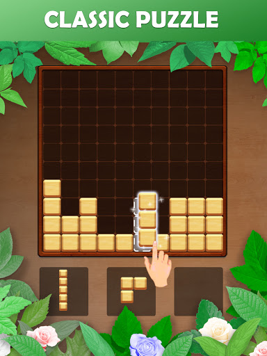 Wood Block Puzzle: Reversed Tetris & Block Puzzle android2mod screenshots 8