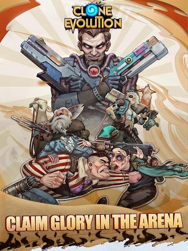 Clone Evolution: Cyber War-Borderlands Fantasy  screenshots 11