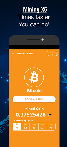 bitcoin mining software android