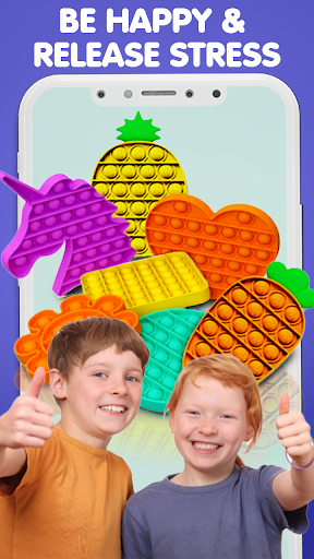 Pop It Sensory Fidget cube toys 3d Anxiety Relief  screenshots 8