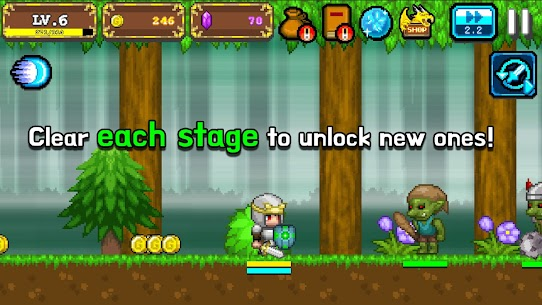 Tap Knight : Dragon's Attack Mod Apk 1.0.17 (Free Upgrade For Equipment) 4