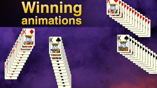 Solitaire Klondike - classic offline card game Apkfinish screenshots 4