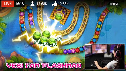 Marble Dash-Bubble Shooter filehippodl screenshot 7