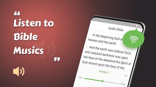 King James Bible (KJV) - Free Bible Verses + Audio android2mod screenshots 14