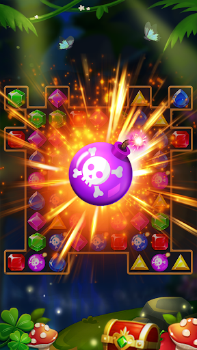 Jewels Forest : Match 3 Puzzle apkpoly screenshots 4