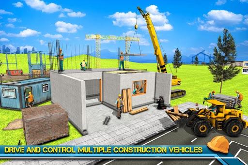 Modern Home Design & House Construction Games 3D  screenshots 4