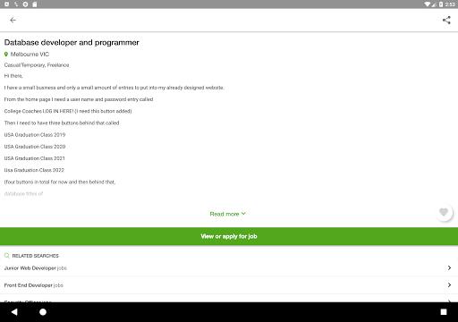 Jora Jobs - Job Search, Vacancies & Employment 2.26.1 (4431) Screenshots 6