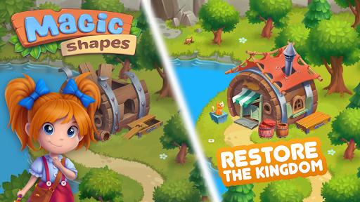 Magicshapes: Your new Garden & Match 3 story 2.3.8 Beta screenshots 1