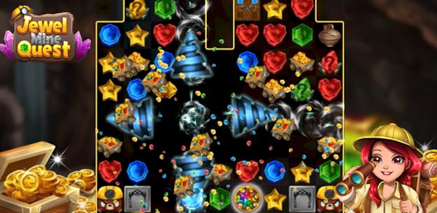Jewel Mine Quest: Match-3 puzzle 3