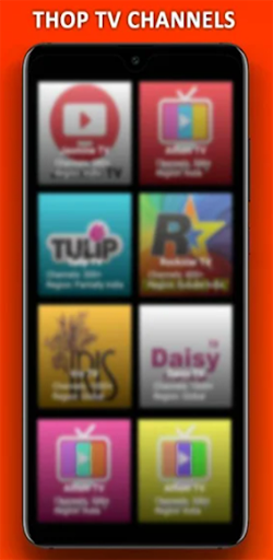 Thoptv - Live Cricket , All TV Channels Guide screen 0