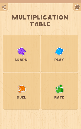Multiplication table. Learn and Play! 1.2 Screenshots 17