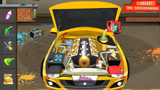 Modern Car Mechanic Offline Games 2020: Car Games apktram screenshots 9