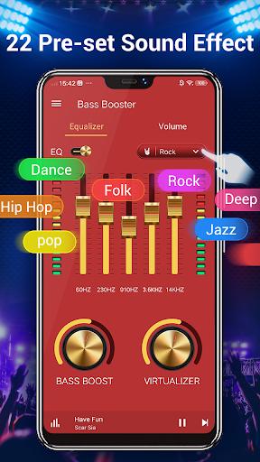 Equalizer -- Bass Booster & Volume EQ &Virtualizer 1.5.3 Screenshots 3