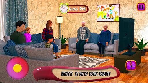 Virtual Mother Life Simulator - Baby Care Games 3D Apkfinish screenshots 2