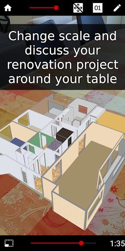 Floor plan - Home improvements in AR - Wodomo 3D 01.03.02 Screenshots 5