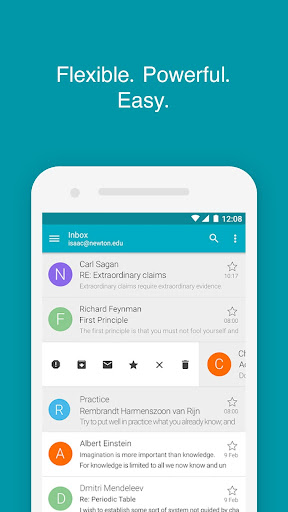 Aqua Mail - Email app for Any Email 1.27.2-1730 Screenshots 1